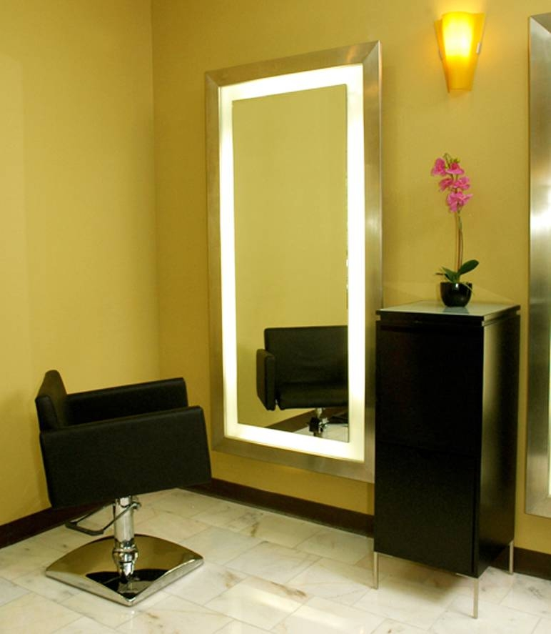 15 Ideas of Salon Wall Mirrors
