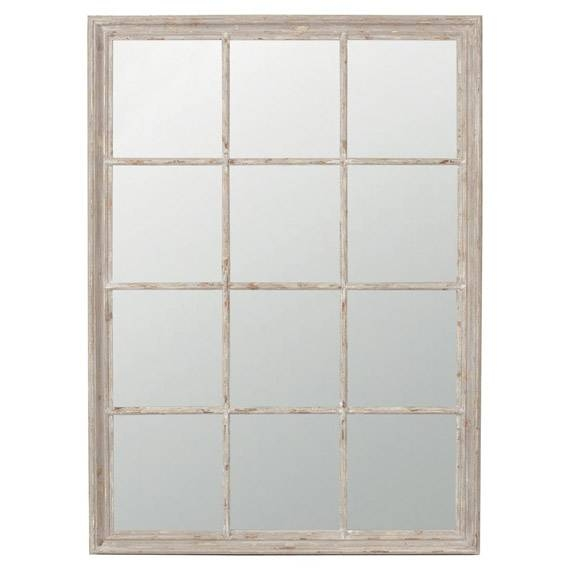 Sash Window Wall Mirror – Oka Throughout Window Wall Mirrors (#15 of 15)