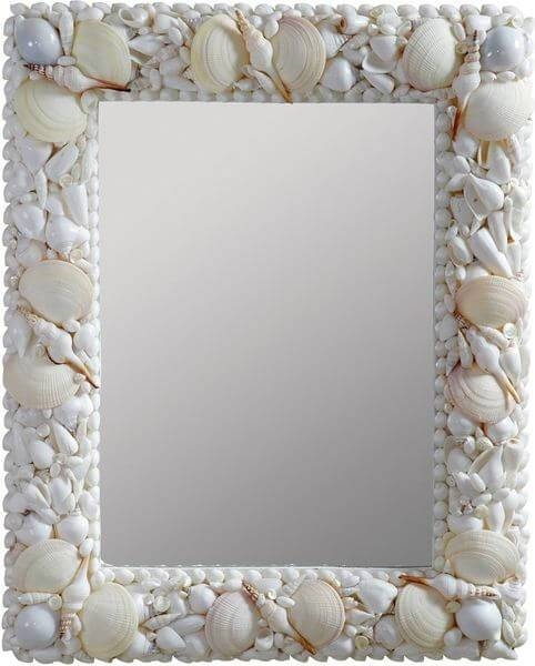 Inspiration about Seashell Mirrors – Easy Home Concepts Pertaining To Seashell Wall Mirrors (#2 of 15)