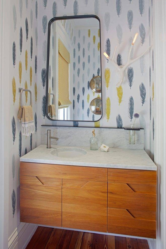Seattle Custom Vanity Home Bathroom Contemporary With Wall Pertaining To Seattle Custom Mirrors (View 5 of 15)