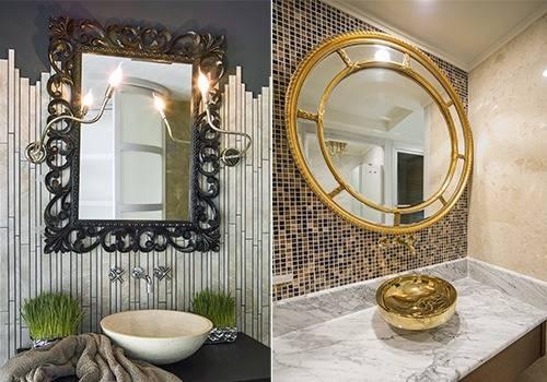 Popular Photo of Decorative Mirrors For Bathroom Vanity
