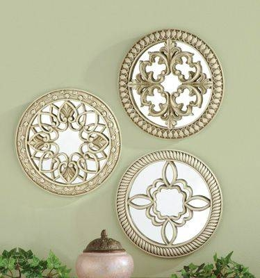Simple Ideas Decorative Wall Mirror Sets Inspiring Better Homes Intended For Decorative Wall Mirror Sets (#12 of 15)