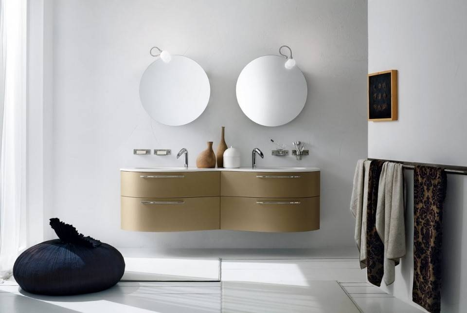 Small Round Bathroom Mirrors : Doherty House – Spectacular Round Pertaining To Round Mirrors For Bathroom (View 13 of 15)