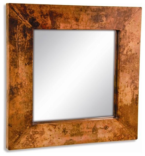 Popular Photo of Copper Wall Mirrors