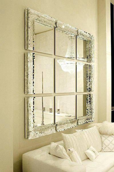 Small Square Mirrors Tiles Small Square Mirror A Small Square Throughout Large Square Wall Mirrors (#14 of 15)