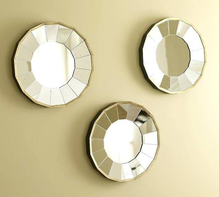 Small Wall Mirror Decor Mirrors Decorative Inside Sets