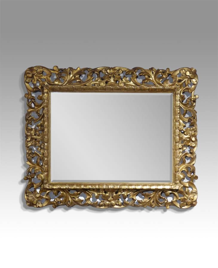 Inspiration about Small Wall Mirror, Gilt Mirror, Vintage Gold Mirror : Antique Wall Regarding Small Gold Wall Mirrors (#7 of 15)