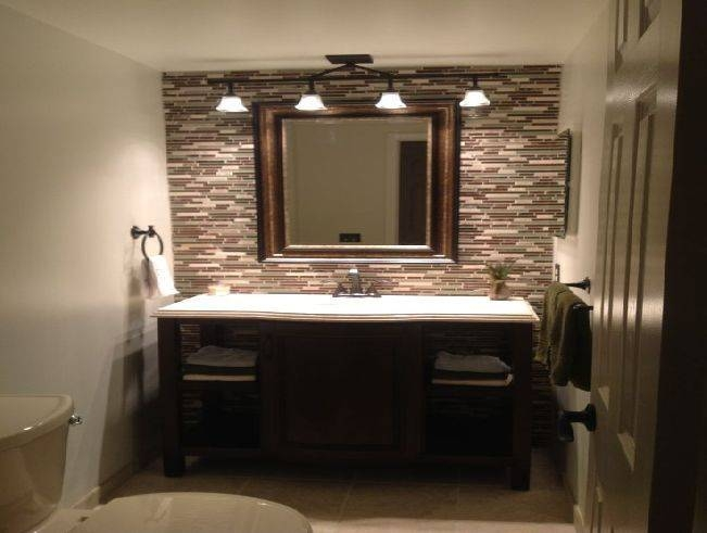 Popular Photo of Bathroom Lighting And Mirrors