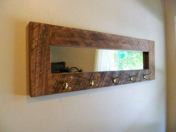 Smart Ideas Wall Mirror With Hooks – Decoration Inside Wall Mirror With Coat Hooks (#10 of 15)