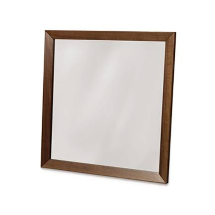 Solid Wood Framed Mirrors – Vermont Woods Studios Inside Walnut Wall Mirrors (#12 of 15)