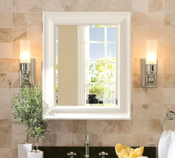 Sonoma Wall Mounted Medicine Cabinet | Pottery Barn With Bathroom Medicine Cabinets With Mirrors (#14 of 15)