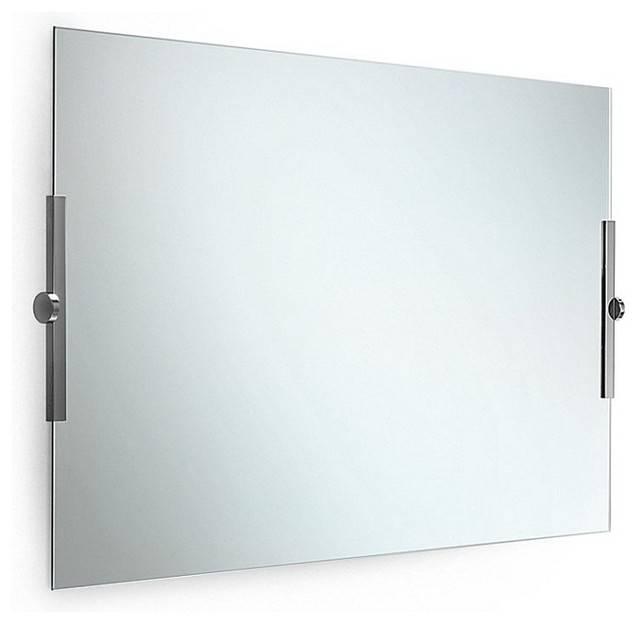 Adjustable bathroom mirrors