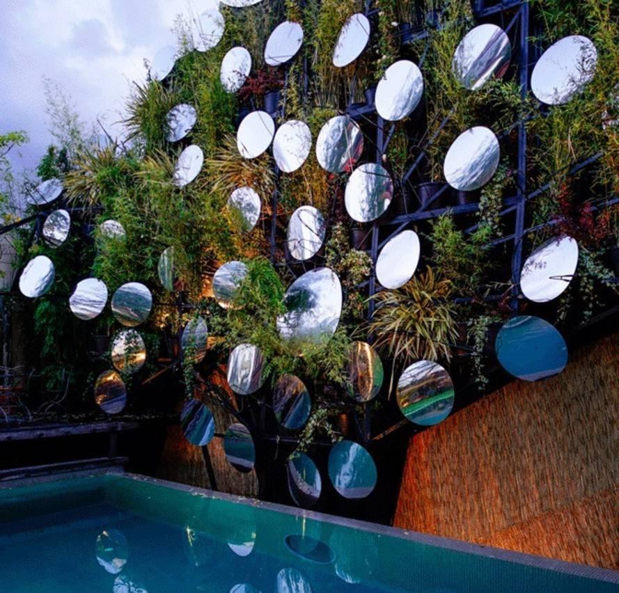Splashmanuel Ocana Wall Lead « Inhabitat – Green Design Intended For Green Wall Mirrors (View 10 of 15)