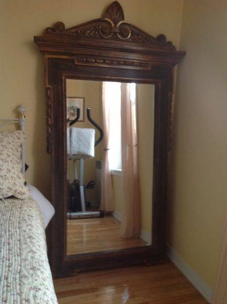 15 Photo Of Vintage Wood Mirrors