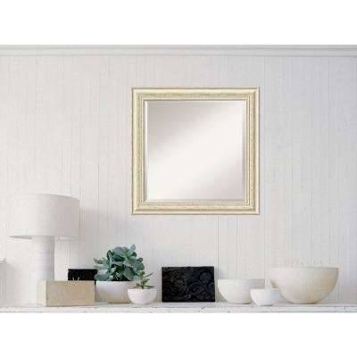 Square – White – Mirrors – Wall Decor – The Home Depot Regarding Distressed White Wall Mirrors (View 10 of 15)