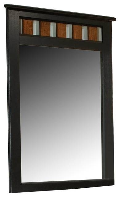 Standard Furniture Steelwood Panel Mirror, Vinza Oak Madison Inside Standard Wall Mirrors (View 15 of 15)