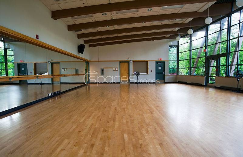 Stock Photos Large Empty Dance Studio With Mirror Along One Wall Pertaining To Dance Studio Wall Mirrors (#12 of 15)
