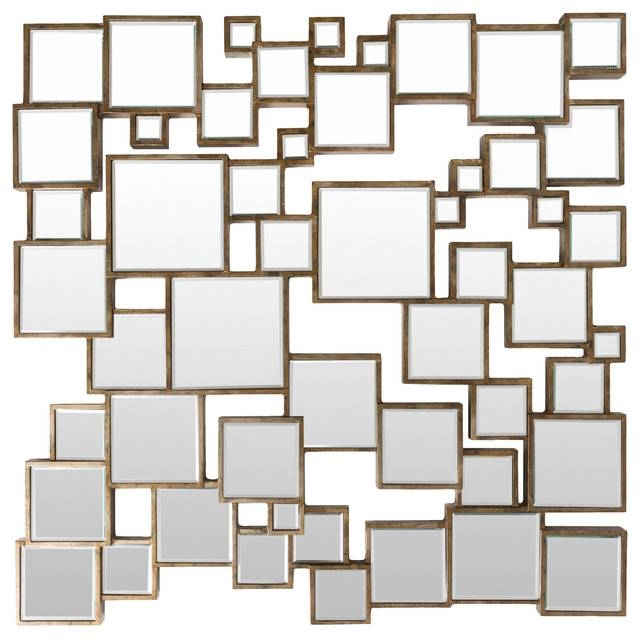 Strickland Wall Mirror – Contemporary – Wall Mirrors  Surya Throughout Trendy Wall Mirrors (#13 of 15)