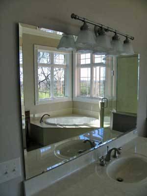 Stunning Frameless Beveled Mirrors For Bathroom 13 With Additional Inside Frameless Beveled Bathroom Mirrors (#12 of 15)