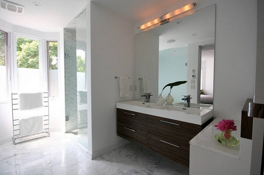 Stunning Ideas Vanity Wall Mirrors For Bathroom Lighted Mirror Pertaining To Vanity Wall Mirrors For Bathroom (View 3 of 15)