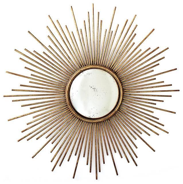Popular Photo of Sunburst Wall Mirrors