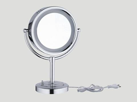 Table Top Lighted Make Up Mirror 1003 Regarding Magnified Vanity Mirrors (#14 of 15)