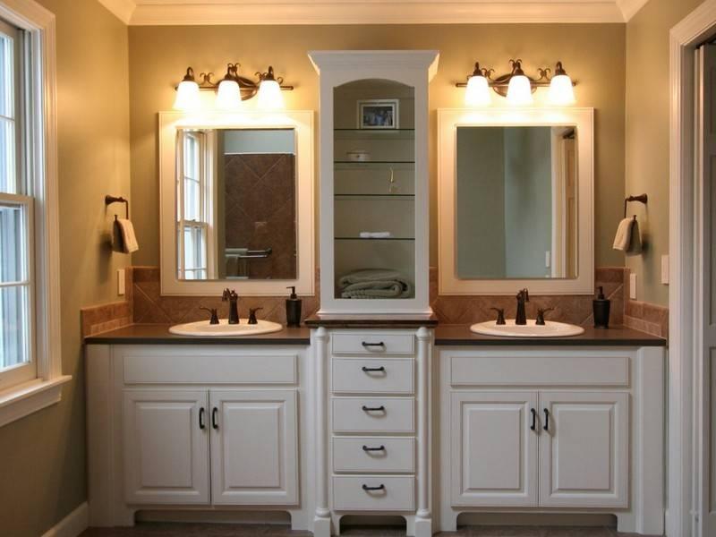 Terrific Bathroom Vanity Mirror Ideas Surprising Mirrors 10 Inside Bathroom Mirrors Ideas With Vanity (#14 of 15)