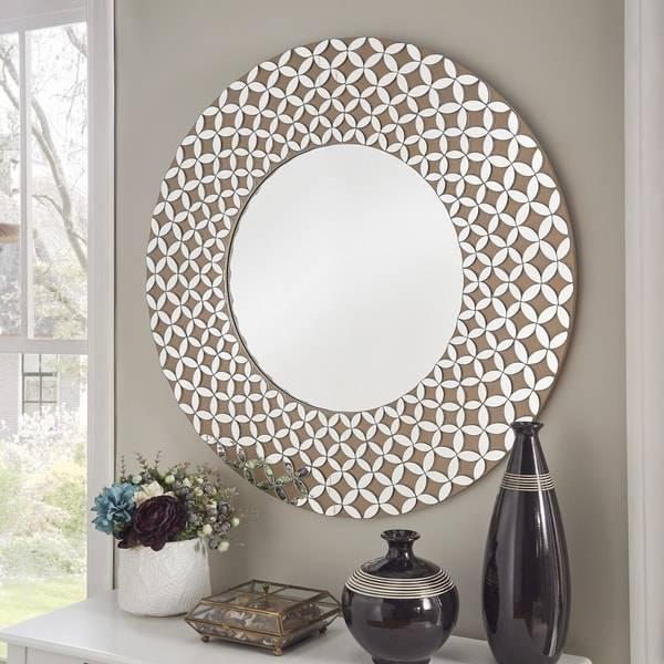 Tessa Geometric Wall Mirrorinspire Q Bold – Free Shipping Within Geometric Wall Mirrors (#15 of 15)