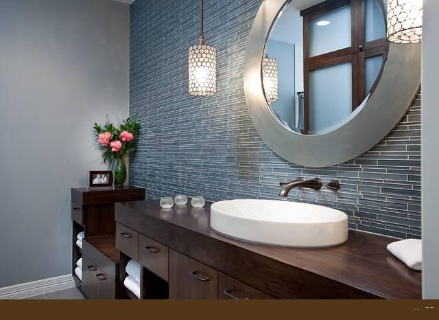 The Bathroom Vanity Mirror For Your Modern Bathroom Bathroom With Regard To Decorative Mirrors For Bathroom Vanity (#15 of 15)