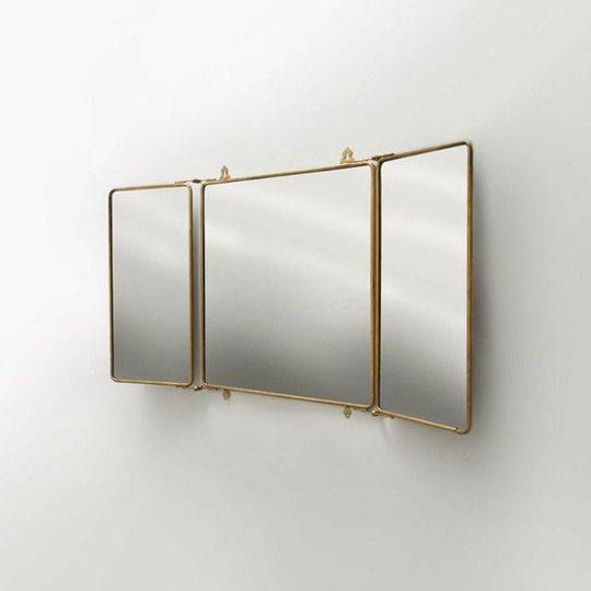 The Best 25 Tri Fold Mirror Ideas On Pinterest Dressing Room Mirror  Intended For Tri Fold Bathroom Mirror Designs Regarding Tri Fold Wall Mirrors (#9 of 15)