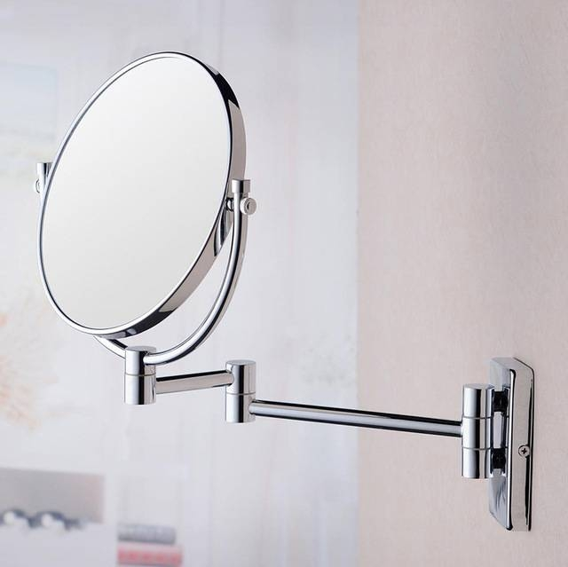 The Copper Mirror Folding Thickened Beautiful Bathroom Mirror Wall With Folding Wall Mirrors (#11 of 15)