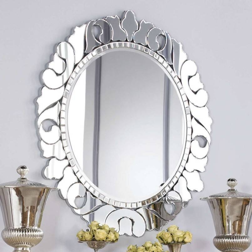 The Decorative Wall Mirror And The Great Old Style For Classic For Decorative Framed Wall Mirrors (#14 of 15)