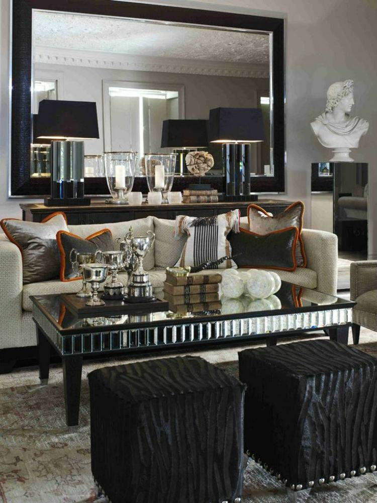 The Most Beautiful Wall Mirror Designs For Your Living Room With Wall Mirrors For Living Rooms (#13 of 15)