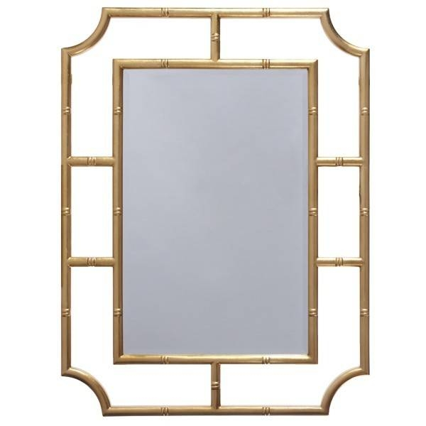The Well Appointed House – Luxuries For The Home – The Well Regarding Bamboo Wall Mirrors (#14 of 15)