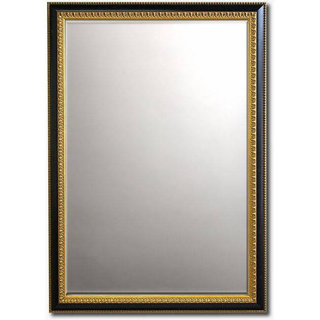 Thin Gold Framed Round Wall Mirror With Regard To Gold Framed Wall Mirrors (#14 of 15)
