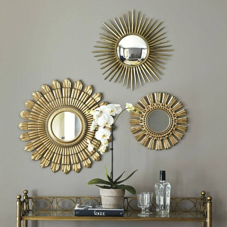Three Sunburst Wall Mirror : Doherty House – Makes A Sunburst Wall For Sunburst Wall Mirrors (View 8 of 15)