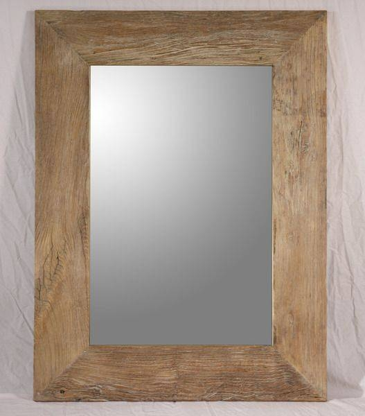 Popular Photo of Timber Mirrors