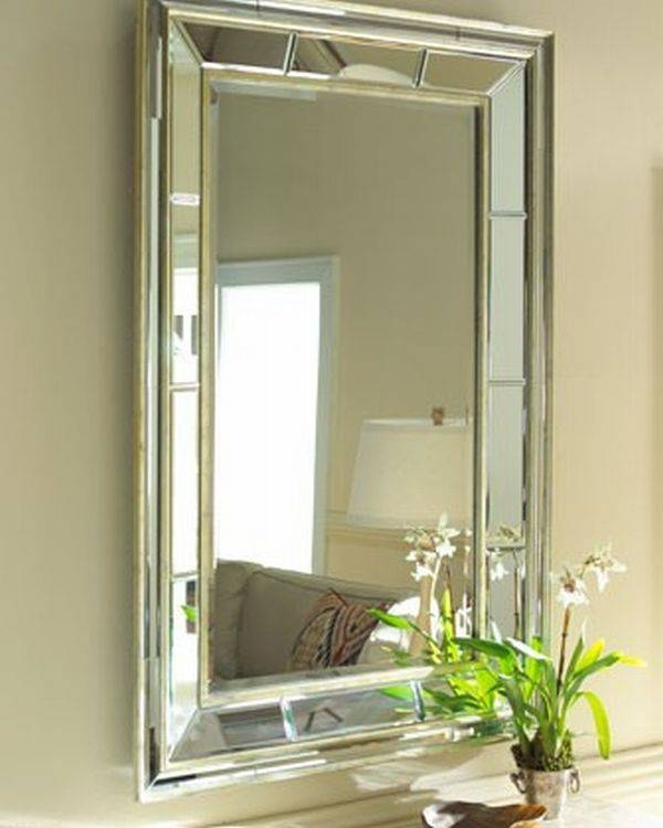 Tips For Decorating With Wall Mirrors Inside Beveled Wall Mirrors (View 2 of 15)