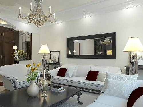 Tips For Displaying Large Mirrors In A Living Room With Regard To Wall Mirrors For Living Rooms (#14 of 15)