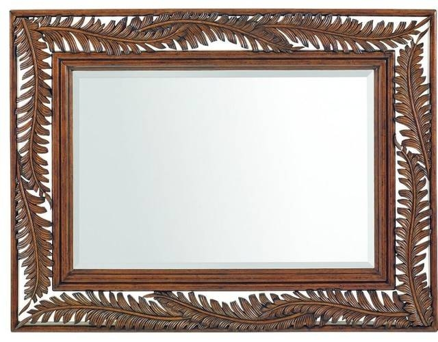 Tommy Bahama Home Bali Hai Seabrook Landscape Mirror – Tropical Inside Tropical Wall Mirrors (View 10 of 15)