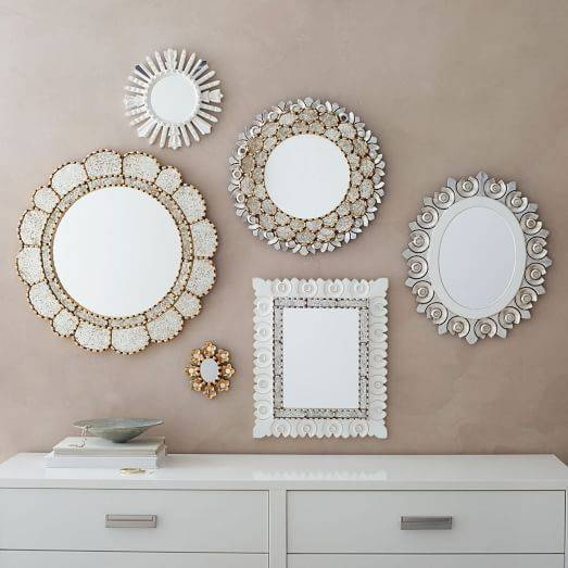 Top Contemporary Ideas Of Home Decor With Wall Mirrors – Fab With Regard To Small Decorative Wall Mirrors (View 4 of 15)