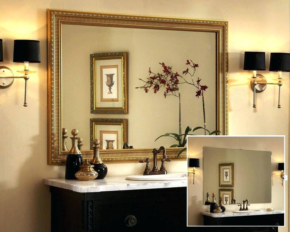 Trendy Bathroom Mirrors Vintage – Parsmfg Intended For Custom Mirrors For Sale (#13 of 15)