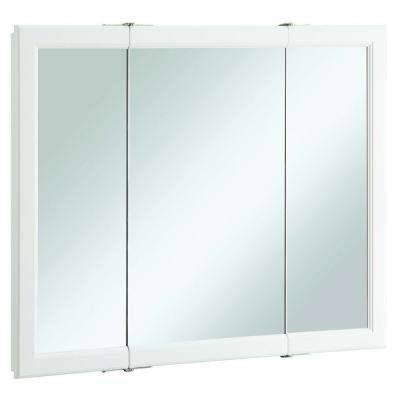 Popular Photo of 3 Door Medicine Cabinets With Mirrors