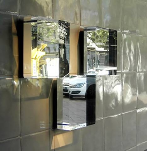 Unbreakable Mirrors: Bullet Proof Tiles For Bathroom Walls Throughout Unbreakable Wall Mirrors (#4 of 15)