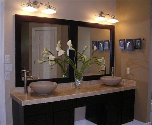 Inspiration about Unique 40+ Bathroom Mirror For Double Vanity Design Inspiration Of Throughout Double Vanity Bathroom Mirrors (#9 of 15)