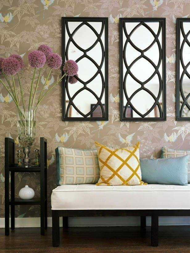 Inspiration about Unique And Stunning Wall Mirror Designs For Living Room In Wall Mirror Designs For Living Room (#4 of 15)