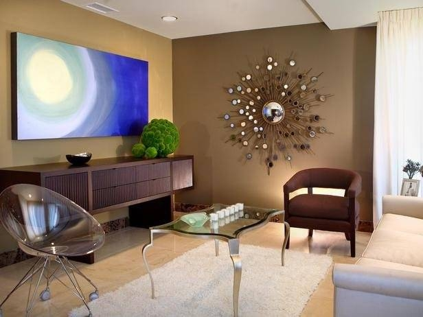 Popular Photo of Wall Mirror Designs For Living Room