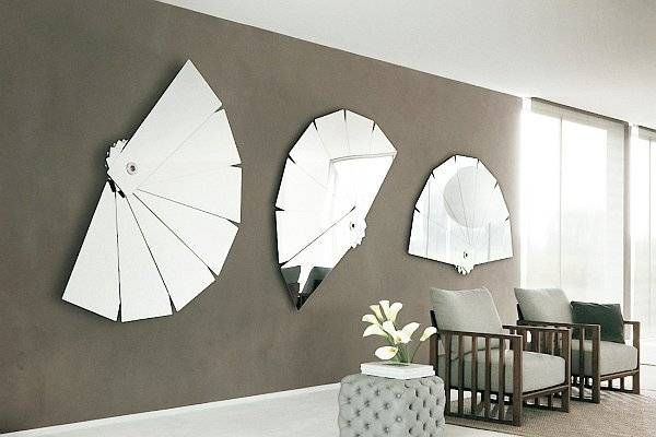 Unique And Stunning Wall Mirror Designs For Living Room With Wall Mirrors Designs (#14 of 15)