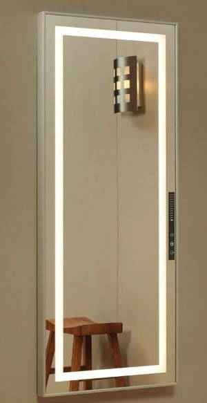 Unique Scenescetter™ Lighted Dressing Room Mirrors Pertaining To Wall Mirrors With Light (#12 of 15)