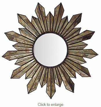 Inspiration about Unique Shaped Decorative Tin Mexican Wall Mirrors Regarding Mexican Wall Mirrors (#11 of 15)